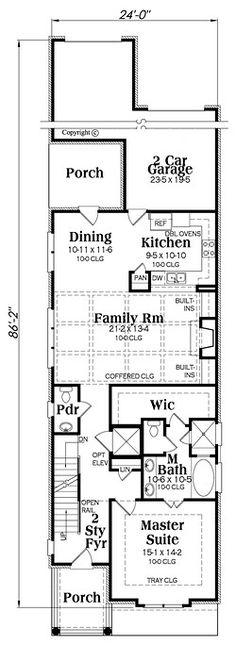 Seaside House Plan chp-57148 at COOLhouseplans.com