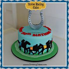horse racing cake - Google Search