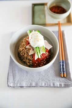 How to make Bibim Naengmyeon (Korean spicy cold noodles) | MyKoreanKitchen.com