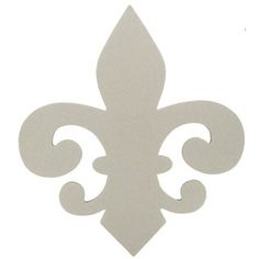 Fleur-De-Lis Chipboard Decor | Shop Hobby Lobby