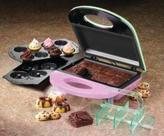 Ace of Cakes  Satisfy your hunger for something fun by whipping up diminutive desserts like brownies and cupcakes in less than 10 minutes with the Nostalgia Electrics Bakery Bites Express. Sweeeet!    Price: $29.99  Bed Bath & Beyond   bedbathandbeyond.com