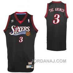 "http://www.jordanaj.com/allen-iverson-philadelphia-76ers-3-nickname-the-answer-black-jersey.html ALLEN IVERSON PHILADELPHIA 76ERS #3 NICKNAME ""THE ANSWER"" BLACK JERSEY Only $71.00 , Free Shipping!"