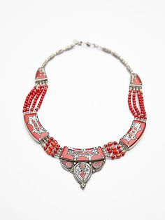 Karen London Moon Shadow Necklace at Free People Clothing Boutique