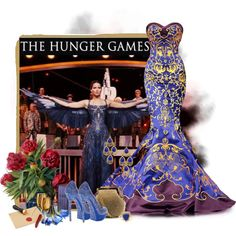 The Hunger Games. by anakaren-silva on Polyvore featuring moda, Gianmarco Lorenzi, Franchi, Vintage, Henri Bendel and Artland