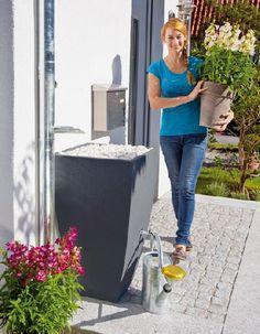 Gardenplaza - Elegante Wasserspeicher für die moderne Gartengestaltung - Regentonne adé