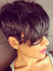 Long pixie cuts are chic and elegant hairstyles that have won the hearts of women from all around the world. Here we have rounded up 30 Long Pixie Cut Pictures Cute Hairstyles For Short Hair, Pixie Hairstyles, Short Hair Cuts, Short Hair Styles, Pixie Cuts, Pixie Haircuts, Medium Hairstyles, Woman Hairstyles, Trendy Hair