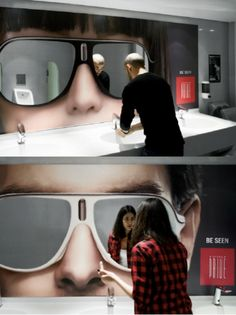 Creative Guerrilla Marketing - The Site For Guerilla Marketing, Ambient Advertising, and Unconventional Marketing Examples. Guerilla Marketing, Street Marketing, Guerrilla Advertising, Clever Advertising, Advertising Design, Advertising Campaign, Marketing And Advertising, Marketing Ideas, Experiential Marketing