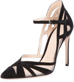 Cheap heel sandals, Buy Quality high heel sandals directly from China sandales stiletto Suppliers: Sexy Black Cutouts Pointed Toe Women Shoes High Heel Sandals Stiletto Woman Pumps Chaussure Femme Talon Zapatos Mujer Tacon Black Suede Pumps, Black High Heels, High Heels Stilettos, Stiletto Heels, Black Shoes, Women's Pumps, Prom Heels, Platform Pumps, Pump Shoes