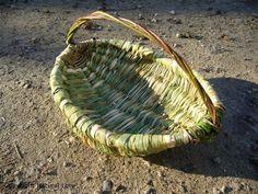 Cattail baskets