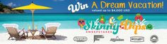 Win A $4000 Sandals Vacation Getaway (Exp July 7) Sandals Beach Resort, Skinny Dips, Visa Gift Card, Win A Trip, July 7, Beach Resorts, Dream Vacations, Amazing, Hot
