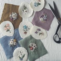 This instructable will teach you the very basics of hand embroidery. Learning to embroider is not as tough as you might think! Hand Embroidery Stitches, Silk Ribbon Embroidery, Embroidery Jewelry, Hand Embroidery Designs, Embroidery Techniques, Embroidery Art, Cross Stitch Embroidery, Embroidery Patterns, Fabric Jewelry