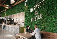 'A Big, Bold, Natural Element': Employers Are Bringing Nature Indoors To Increase Employee Happiness, Productivity Modern Office Design, Higher Design, Green Building, Sustainable Design, Building Design, Bring It On, Indoor, Office Ideas, Productivity
