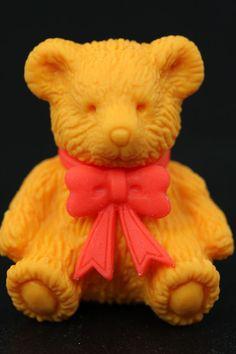 Sitting Teddy Bear Eraser Series One