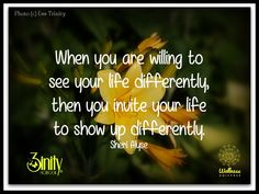 Inspired by Sheri Alyse's blog on www.thewellnessuniverse.com #3inity #wuvip #positivethoughts #wordsofwisdom #change #inspirational #encouragement