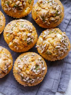 Buckwheat Carrot and Feta Savoury Muffins - Gluten free savoury muffins are the perfect sugar free snack and easy to make! Buckwheat carrot and feta is a really delicious healthy flavour combination. Gluten Free Savoury Muffins, Real Food Recipes, Baking Recipes, Free Recipes, Feta, Sugar Free Snacks, Buckwheat Recipes, Savoury Baking, Savory Snacks
