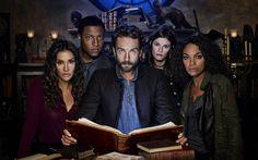 Sleepy Hollow, 2017, Season 4, poster, 4k, Tom Mison, Nicole Behari, Lindy Greenwood, Katia Winter