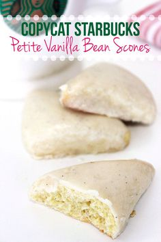 Make your own batch of Copycat Starbucks Petite Vanilla Bean Scones recipe to enjoy at home!Here's the inspired recipe(you're welcome!).