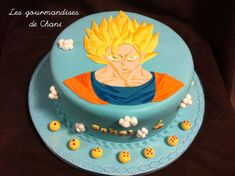 Gateau dragon ball Z