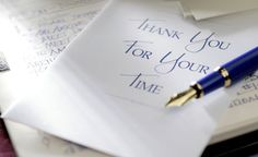 Guidelines for Writing Great Thank-You Letters - Thank You For Your Time - Writing Thank You Cards, Thank You Letter, Thank You Note Cards, Thank You Typography, Meant To Be Quotes, Great Thank You, Teacher Cards, Job Interview Tips, Start Writing