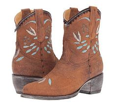 Get the must-have boots of this season! These Old Gringo Brown/Blue/White/Cognac/Leather Embroidered Floral Ankle Boots/Booties Size US 7 Regular (M, B) are a top 10 member favorite on Tradesy. Save on yours before they're sold out! Leather Booties, Ankle Booties, Bootie Boots, Shoe Boots, Shoes, Floral Ankle Boots, Old Gringo, Cowgirl Boots, Brown Leather