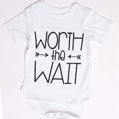 """Great baby shower gift!  """"Worth the Wait"""""""