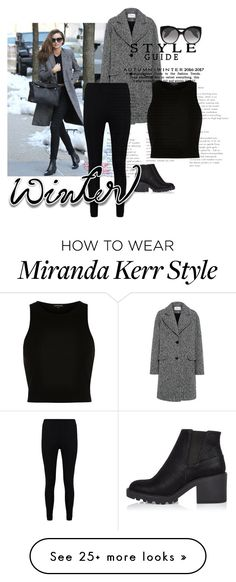 """Untitled #97"" by sdoubleyu on Polyvore featuring Kerr®, Carven, River Island, Boohoo and Alexander McQueen"