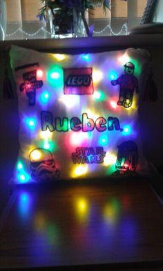 Light up cushion