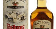 (64) Rothaus by Black Forest - German Single Malt Whisky | Whisky Distilleries in Germany | Pinterest