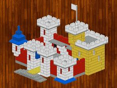 Lego creations. Simple and fun. Variations are possbile. Follow the step by step instructions at the bottom.Lego creation:Name: Lego castleAge: Starting from 6 years oldNumber of blocks: some bricksCategory: Animalslego/first/building-castle.jpg...