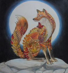 Enchanted Forest Johanna Basford Fox