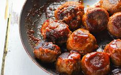 BBQ Lentil Balls. Simple plant based ingredients of lentils, rice, mushrooms, and BBQ sauce. Vegan protein packed dish! Great as a post work meal or to bring to outdoor BBQ events!