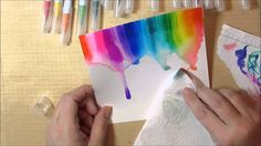 Inspire with Zig Clean Color Watercolor Rainbow