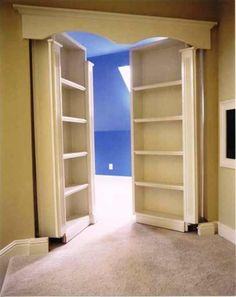 Secret Rooms, I would REALLY like one of these in my house! Secret Rooms, I would REALLY like one of these in my house! Secret Rooms, I would REALLY like one of these in my house! Diy Casa, Home And Deco, My New Room, Home Organization, Organizing, My Dream Home, Home Projects, Home Goods, House Plans
