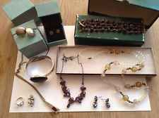 Joblot of Vintage/Costume Jewellery, 1940's, Silver, Gold, 10 Items