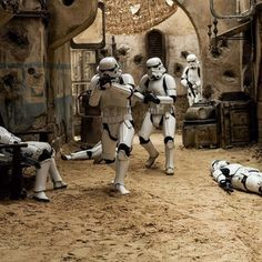 """Imperial Stormtroopers!!"