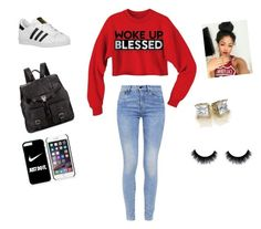 """TGIF"" by liltwinki on Polyvore featuring G-Star, adidas Originals, Proenza Schouler and NIKE"