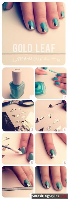 10 easy ways to make your own nail art [Tutorial]