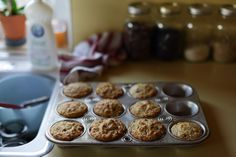 Orangette: Leftover Oatmeal Muffins