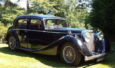 Jaguar 3.5 litre saloon 1947