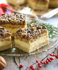 Recept: Ez lesz az ünnepek kedvenc sütije, még most mentsd el a receptet Cake Bars, Hungarian Cake, Poppy Cake, Top 5, Cake Cookies, Nutella, Sweet Recipes, Sweet Treats, Cheesecake