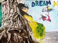 The Wall Project in Mumbai, India - Street Art.