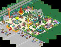 Springfield Simpsons, Springfield Tapped Out, Springfield Heights, The Simpsons Game, Layout Inspiration, Layouts, Tape, Entertainment, Inspired