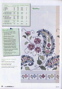 ru & Фото - New Stitches 197 - tymannost Cross Stitch Boarders, Cross Stitch Flowers, Cross Stitch Designs, Cross Stitching, Cross Stitch Embroidery, Embroidery Patterns, Cross Stitch Patterns, Blackwork, Needlepoint