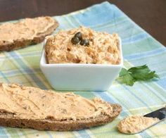 Bring a touch of Hungary to your next appetizer spread with Liptauer, a seriously addicting, paprika-infused cheese spread. Fancy Appetizers, Appetizer Recipes, Appetizer Party, Appetizer Ideas, Party Snacks, Slovak Recipes, Hungarian Recipes, Hungarian Food, Hungarian Cuisine