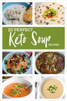 These 20 Keto soup recipes are certain to keep your bellies and your taste buds warm and toasty this cold, winter season. These 20 Keto soup recipes are certain to keep your bellies and your taste buds warm and toasty this cold, winter season. Ketogenic Recipes, Low Carb Recipes, Soup Recipes, Diet Recipes, Healthy Recipes, Salad Recipes, Cheap Recipes, Cabbage Recipes, Diet Tips