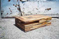 Stack Coffee Table by projectsunday, via Flickr