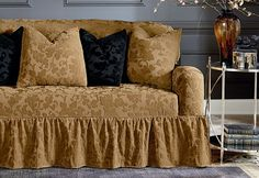Sure Fit Slipcovers Stretch Amira One Piece Slipcovers - Sofa