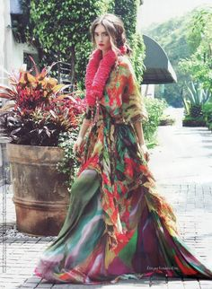 """Anna Schilling Channels Frida Kahlo in Mike Filinow's Vogue Mexico November 2012 'Frida'"""