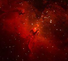 265 отметок «Нравится», 2 комментариев — @astronomyfacts_ в Instagram: «M16: The Eagle Nebula, home to the famous Pillars Of Creation Thank you so tremendously much…»