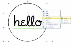 Creating a Circle as a Frame for a Sentiment in Microsoft Word - tutorial by @Susan Opel